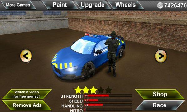 دانلود بازی مقابله با مافیاها Police Agent vs Mafia Driver v1.10 اندروید