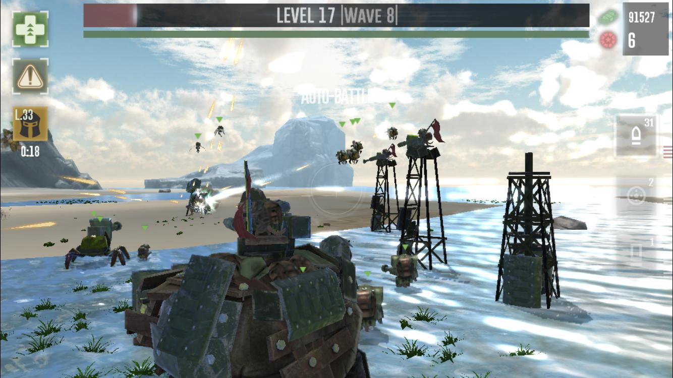 دانلود بازی جنگ لاک پشت War Tortoise v1.00.05 اندروید + دیتا
