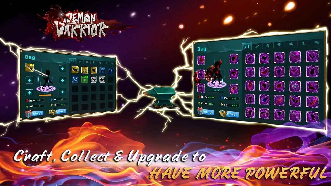 دانلود بازی شیطان جنگجو Demon Warrior v1.2 اندروید