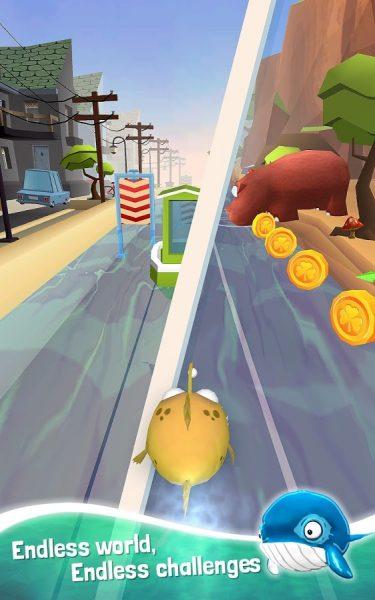 دانلود بازی ماهی دونده Run Fish Run 2 v1.0.0 اندروید