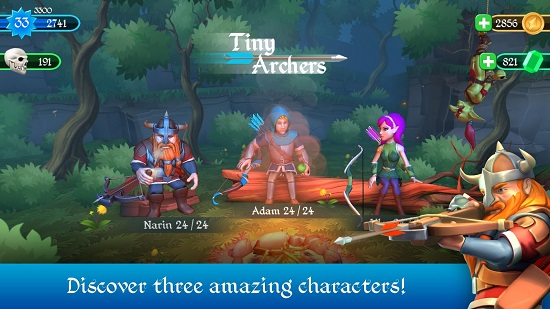 دانلود بازی کمانداران کوچک Tiny Archers v1.3.25.0 اندروید