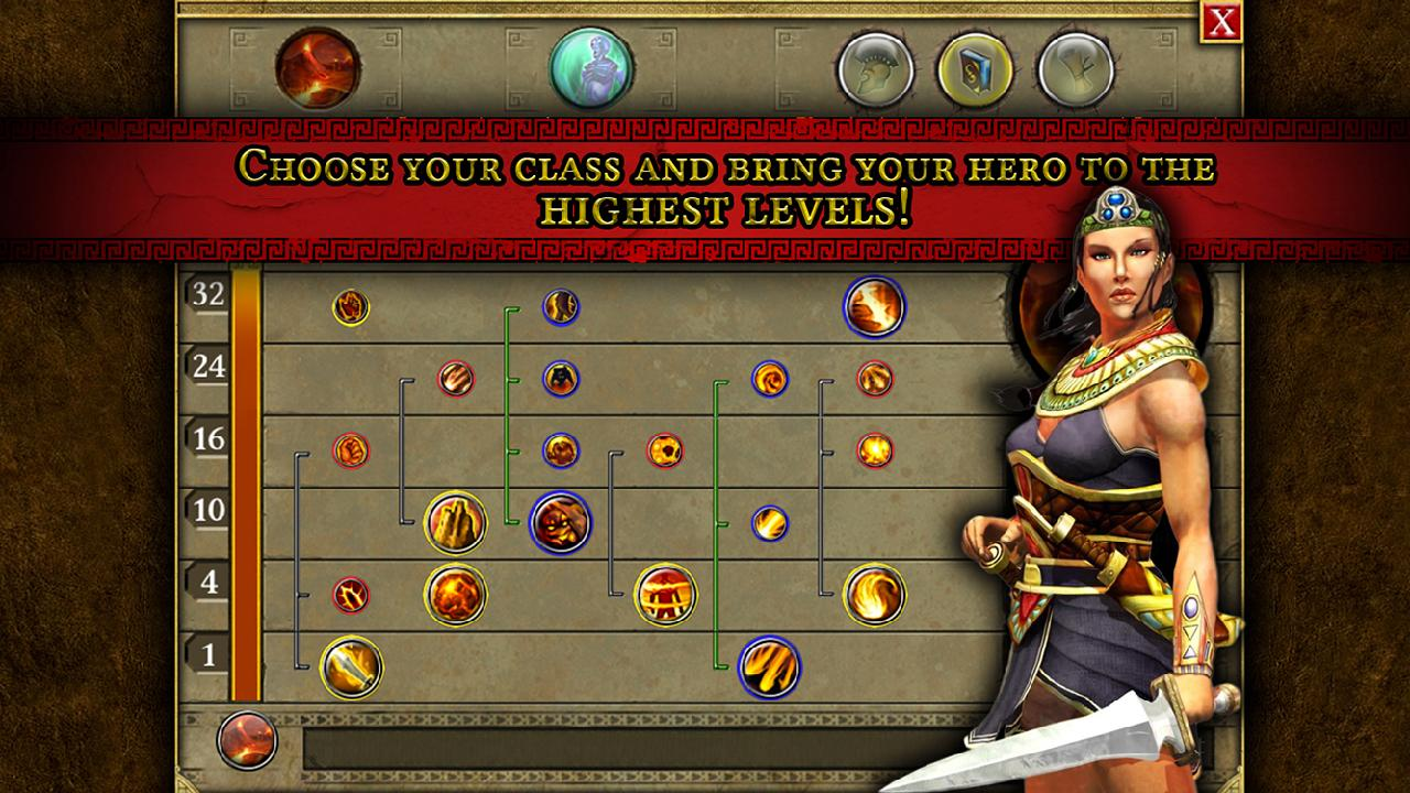 دانلود بازی تحقیق و تلاش تیتان Titan Quest v1.0.0 اندروید