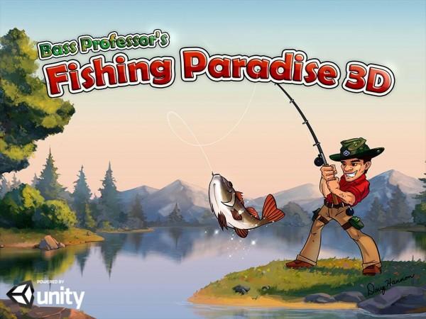 دانلود بازی ماهیگیری در بهشت Fishing Paradise 3D v1.12.31 اندروید