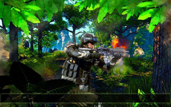 دانلود بازی جنگ تکاور ادمکش Jungle Commando 3D Assassin v1.0 اندروید