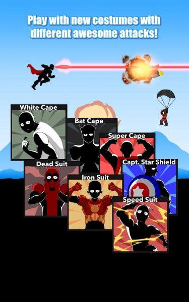 دانلود بازی سوپر من قهرمان One Man Super Hero v1.3 اندروید