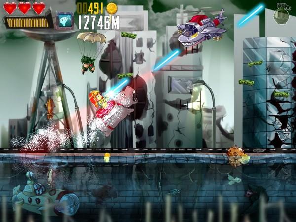 دانلود بازی شلیک داش Ramboat: Shoot and Dash v3.7.0 اندروید