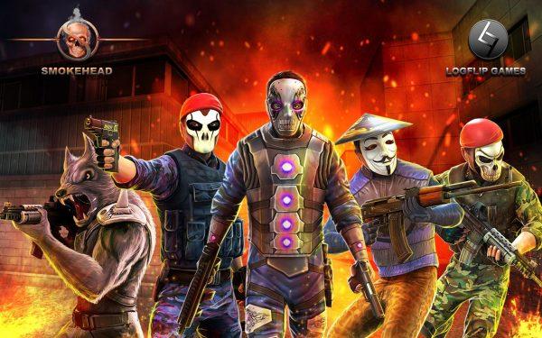 دانلود بازی دود تفنگ SmokeHead – FPS Multiplayer v1.0.10 اندروید