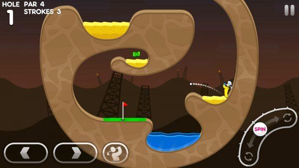 دانلود بازی سوپر گلف استیکمن Super Stickman Golf 3 v1.4 اندروید