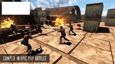 دانلود بازی خشم زامبی Rage Z: Multiplayer Zombie FPS 1.04 اندروید