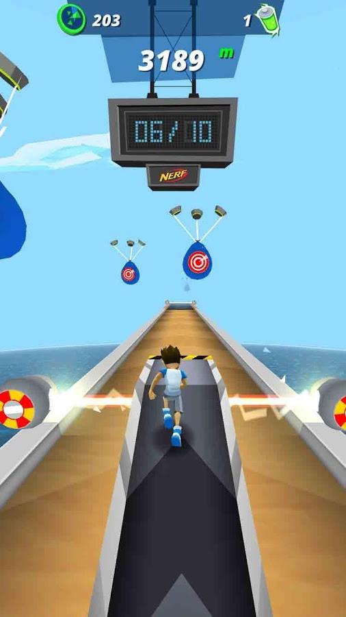 دانلود بازی دوندگی با انرژی Nerf Energy Rush 1.2 اندروید