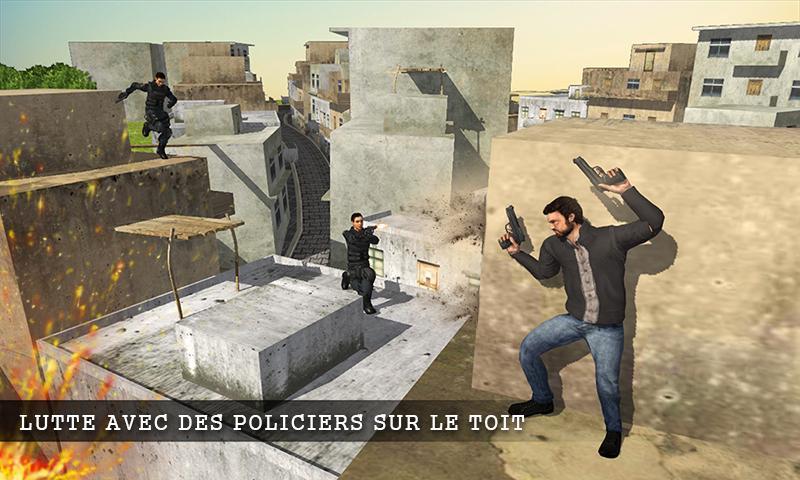 دانلود بازی دیوانه شهر Mad City Rooftop Police Squad اندروید
