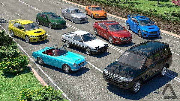 دانلود بازی رانندگی در ژاپن Driving Zone: Japan v1 اندروید