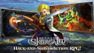 دانلود بازی قهرمان Heroes of Skyrealm اندروید۱