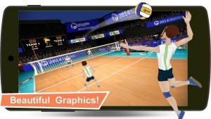 دانلود بازی والیبال Volleyball Champions 3D v6.11 اندروید۵