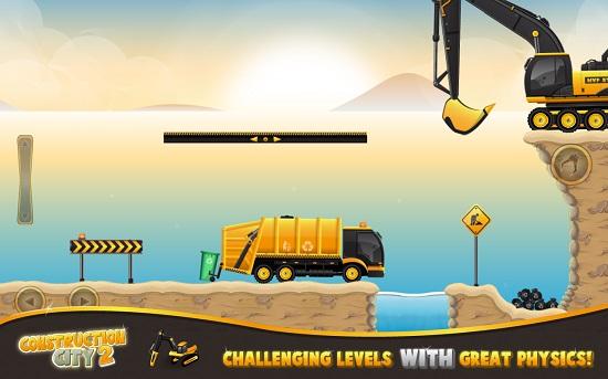 دانلود بازی ساخت و ساز شهر Construction City 2 v1.1 اندروید