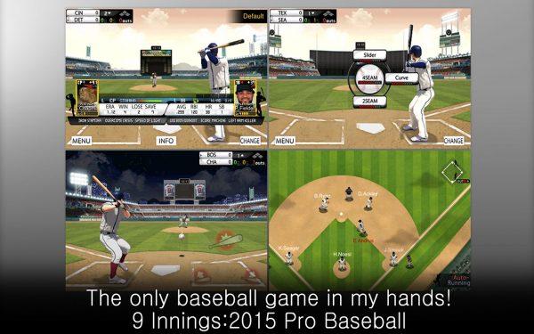 دانلود بازی بیس بال حرفه ای Innings: 2016 Pro Baseball v6.0.4 اندروید