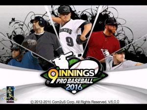 دانلود بازی بیس بال حرفه ای 9 Innings: 2016 Pro Baseball v6.0.4 اندروید