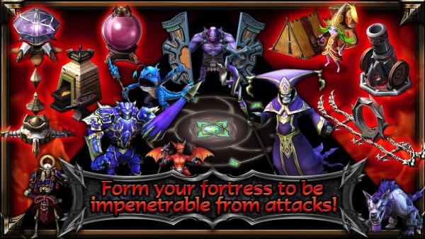 دانلود بازی قلعه افسانه ای Fortress Legends v6.3.18166 اندروید