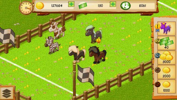 دانلود بازی سرمایه گذار بزگ Horse Park Tycoon v1.3.3 اندروید
