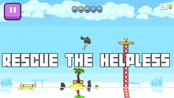 دانلود بازی پیکسلی Choppa v1.2.3 اندروید