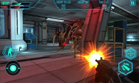 دانلود بازی بیگانگان فضایی Alien Space Shooter 3D v1.2 اندروید