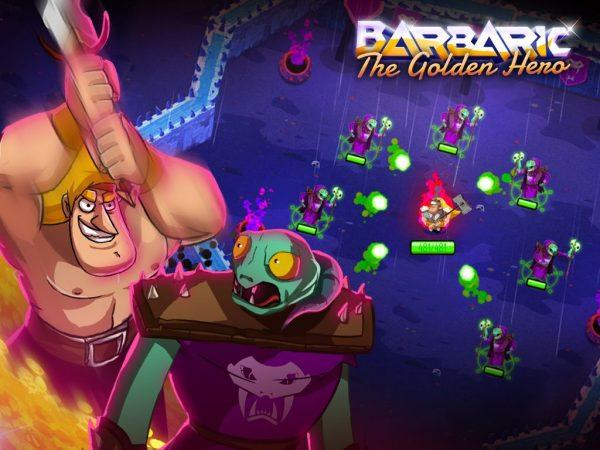 دانلود بازی قهرمان طلایی Barbaric: The Golden Hero v1.0.00 اندروید