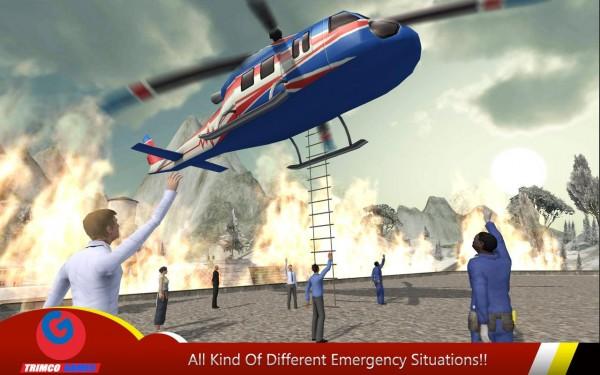 دانلود بازی نجات هلیکوپتر Helicopter Hill Rescue 2016 v1.6 اندروید