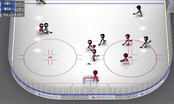 دانلود بازی هاکی استیکمن Stickman Ice Hockey v1.3 اندروید