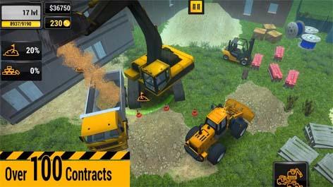 دانلود بازی ساخت و ساز ماشین الات Construction Machines 2016 v1.11 اندروید
