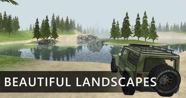 دانلود بازی Off-Road: Forest v3.2.0 اندروید