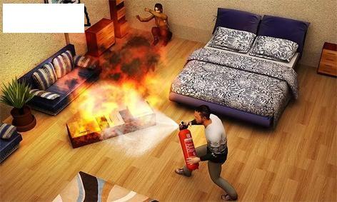 دانلود Fire Escape Story 3D v1.0 – بازی فرار از اتش اندروید