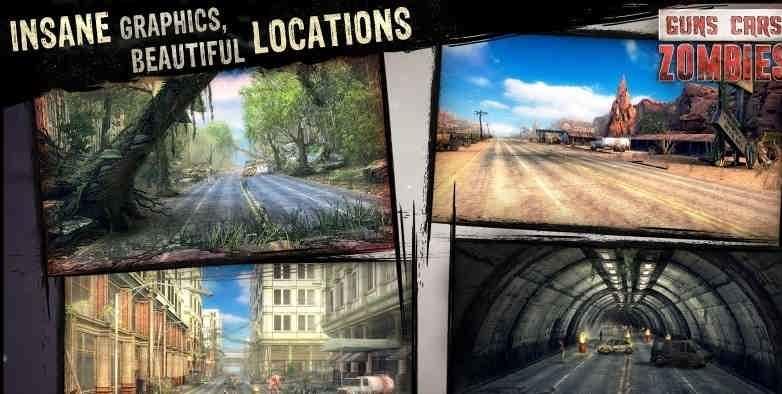 دانلود Guns, Cars, Zombies 1.2.0.0 – بازی اسلحه ماشین زامبی اندروید